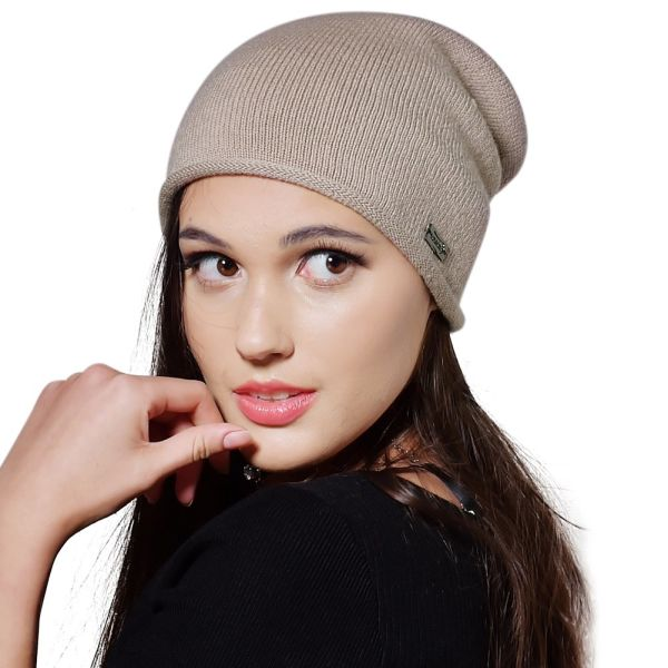 860dbdf42aefc Shop for FURTALK 100% Wool Cashmere Women Winter Knitted Beanies Hat ...