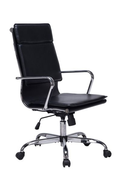 VIVA OFFICE Modern High Back Bonded Leather Office Task Chair Cushioned  Seating 1 Unit / Box