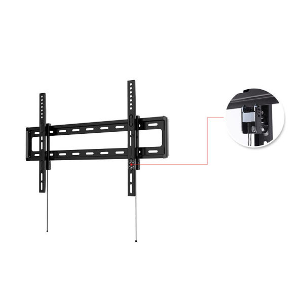 shop for loctek curved panel uhd hd fixed tv wall mount bracket for most of 32