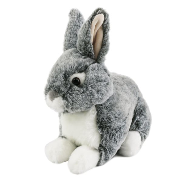 Shop For Lifelike Stuffed Animal Rabbit Plush Toy Grey Bunny Rabbit