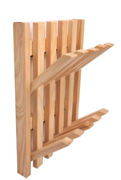 Shop For Mymq Wall Mount Wooden Coat Rack Solid Rubber
