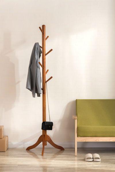Shop For Vlush Standing Coat Rack 8 Hooks Solid Rubber