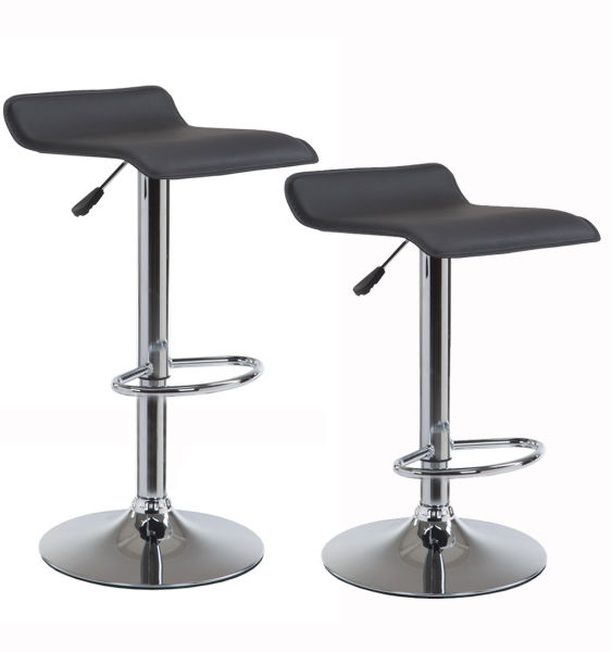 Shop For Wahson Swivel Bar Stools Counter Height 25 33 Inch Leather