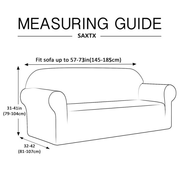 Fantastic Saxtx Stretch Couch Slipcover Waterproof Non Slip Sofa Covers Stains Resistant Prevent Scratches Furniture Cover Pets Cats Kids Loveseat Coffee Ibusinesslaw Wood Chair Design Ideas Ibusinesslaworg