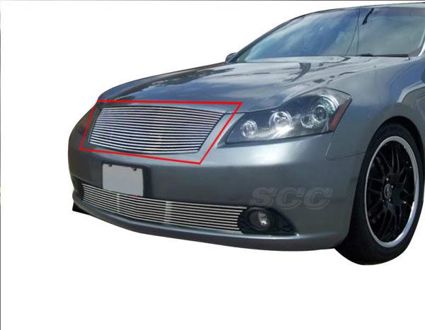 Scc Billet Grille Insert For 2005 2007 Infiniti M35 Sedan