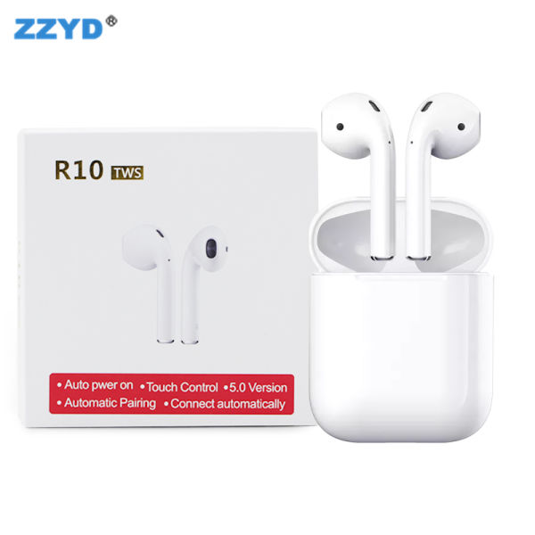 ZZYD New TWS Model R10 Bluetooth Headphone with V5 0 Real Tek Chip Mini  Earbuds for Smart Phone 1 Piece / piece