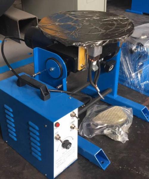 50kg Welding Positioner 1 Set / Wooden Case on