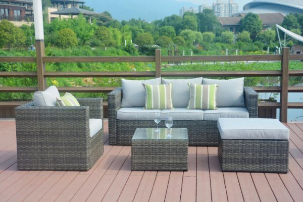Shop For Direct Wicker Outdoor Furniture Sectional Sofa