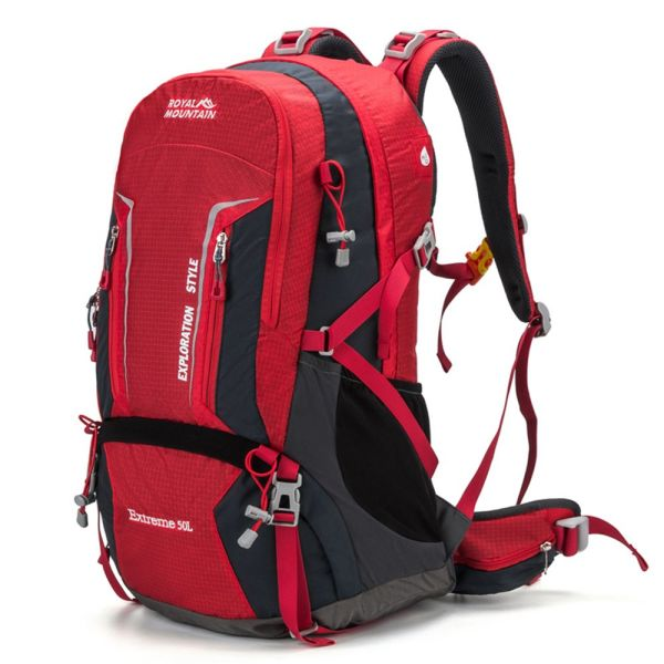 Internal Frame Hiking Backpack Rainfly with Padded Shoulder Straps WaterProof