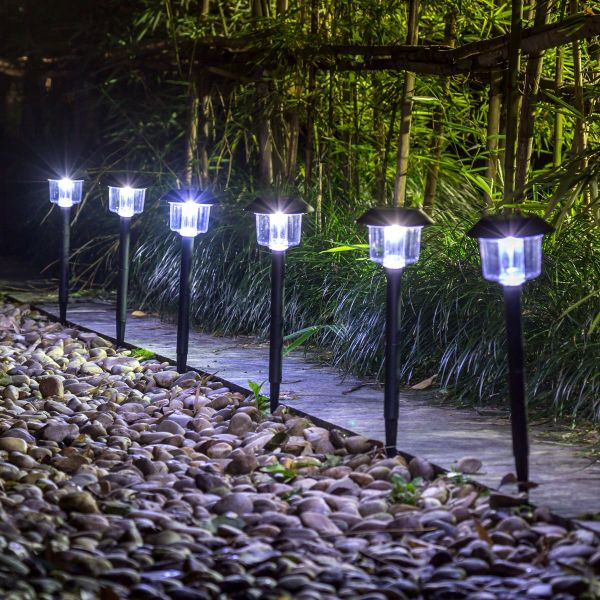 Superior GIGALUMI Solar Lights Outdoor Garden Led Light Landscape / Pathway Lights 6  Pack