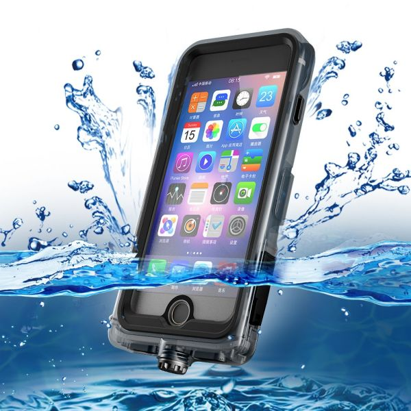newest e1f82 3cb27 Cornmi Waterproof Case for iPhone 6 Plus/iPhone 6s Plus Case Certified Full  Coverage Dry Box for iPhone 6s Plus Dustproof Shockproof Outdoor Cover ...