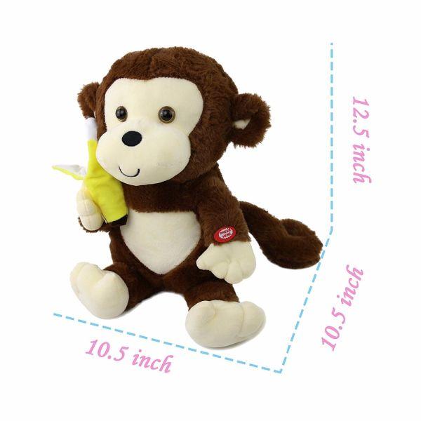 Shop For 12 5inch Cute Monkey Creative Glow Stuffed Animal Plush