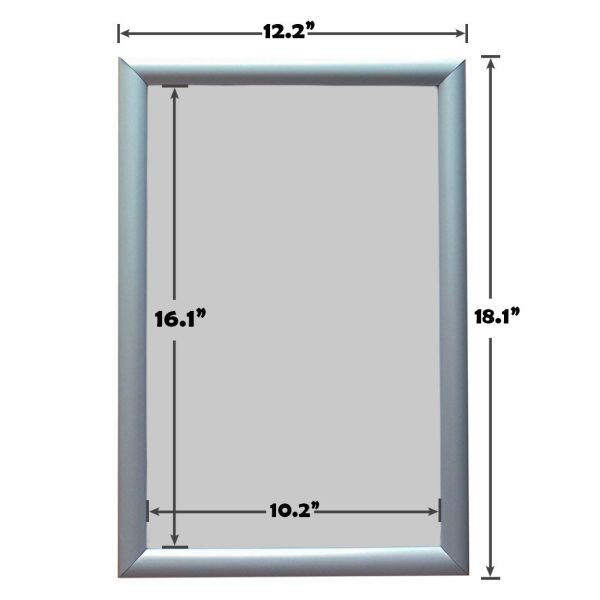 Shop For Haitian Aluminum Snap Poster Frame Wall Type 11 X 17 Inch