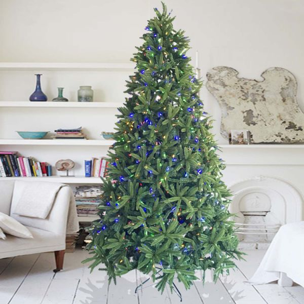 Shop for Decorated Christmas Trees 4 Foot Fir Tree With 80 ...