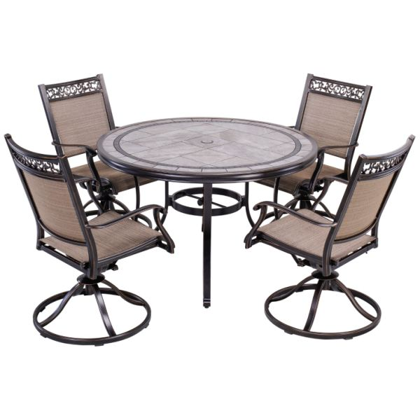 Shop for Outdoor 5 Piece Dining Set Patio Furniture ...
