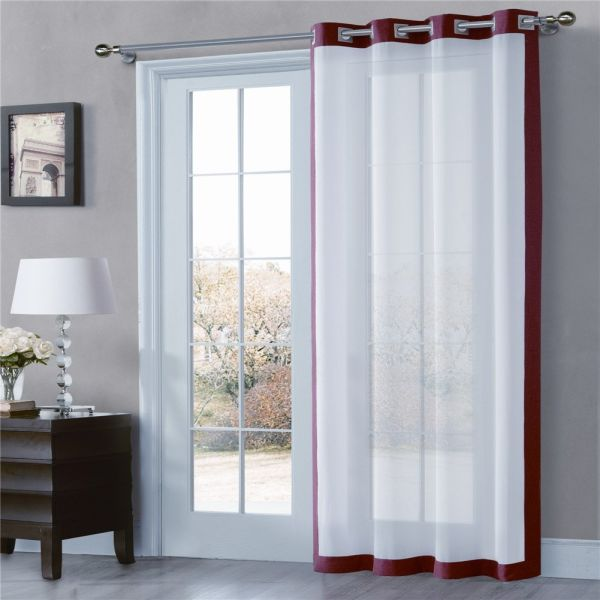 Shop For ComforHome Mix-Tone Window Curtain, Grommets