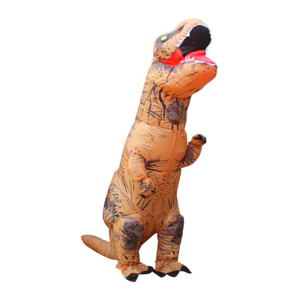 Learned 3d Adult Inflatable Dinosaur Costume Halloween Dress Party Cosplay Suit 4 X Aa Batteries/usb Power Supply Dinosaur Costume Moderate Price Costume Props