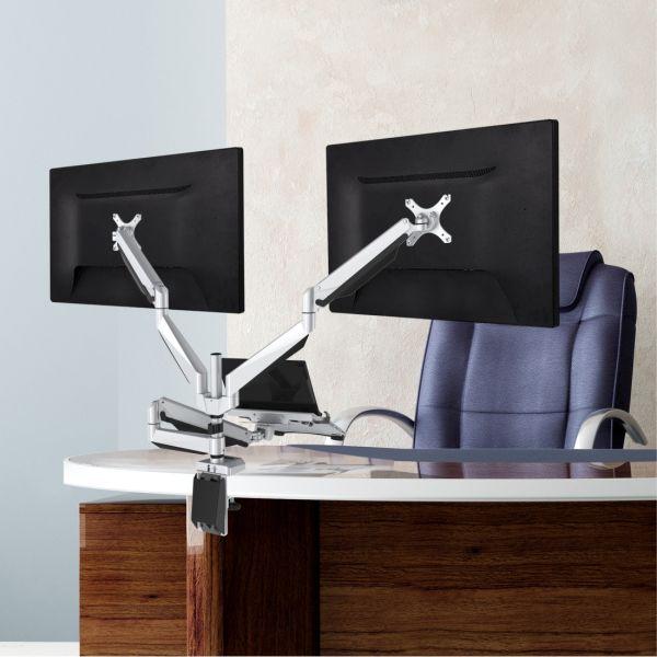 Shop For Loctek D7tp Swivel Triple Arm Desk Lcd Laptop