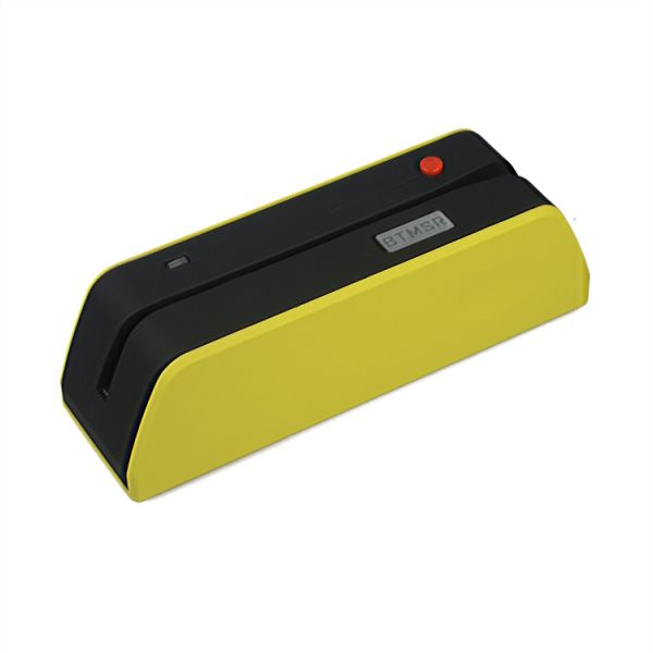 Posunitech Bluetooth Magnetic Swipe Card Reader/Writer Smallest Btmsr  Encoder Msre206 Work with Windows and Apple Computer and UNIX, Linux Even  Ios,