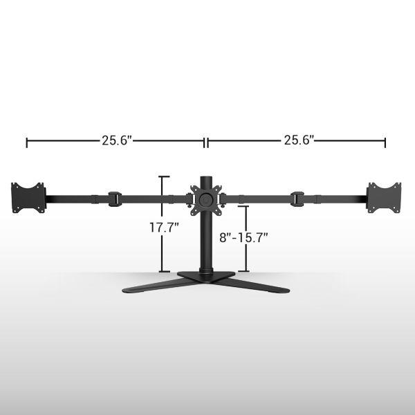 Shop For Fleximounts Df1t Full Motion Free Standing Triple