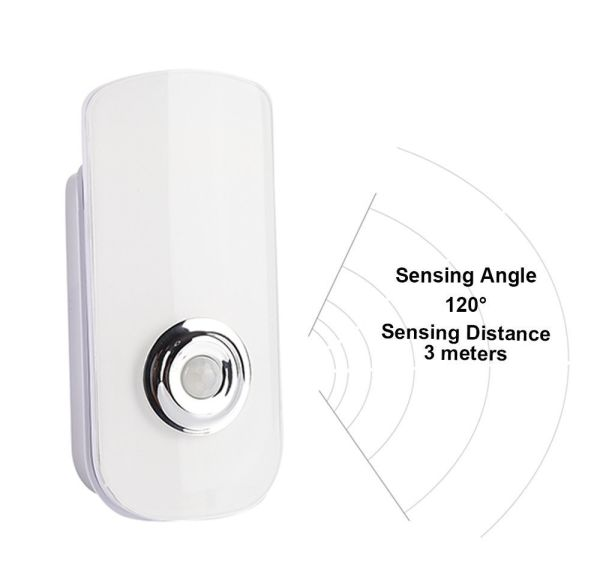 LED Night Light Flashlight Motion Sensor Cut Light 3-in-1, Rechargeable  Emergency Light, Auto Sensing Energy Saving Wall Mount Light Portable LED