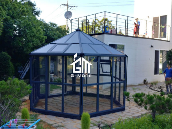 Shop For Lowe S Victorian Sunroom Kits Aluminum Prefabricated Glass