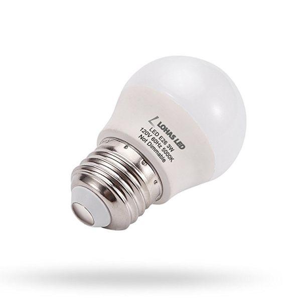 Shop For G14 Led Bulb E26 Base 3w 25 Watt Equivalent
