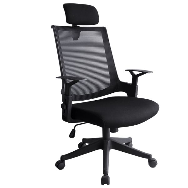 Computer Ergonomic Chair With Armrest Bowping Office Mesh Chair Mid Back Swivel Lumbar Support Desk Chair