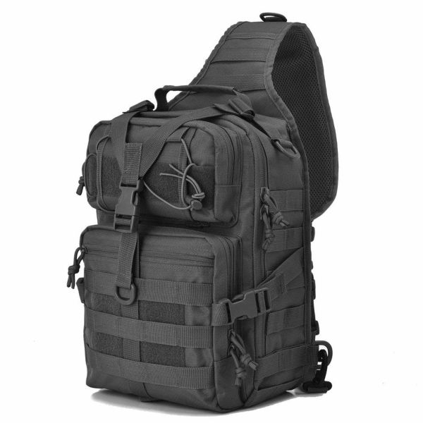7fff37c536b6 J.CARP Military Tactical Backpack Small Assault Pack Army Molle Bug Out Bag  Backpacks