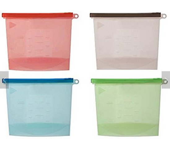 Silicone Food Storage Bag for Kitchen