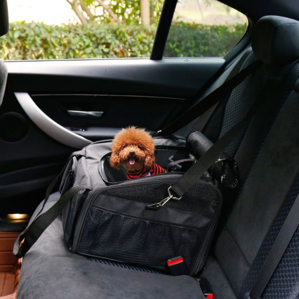 Awesome Kinbor Pet Car Seat Carrier For Dog Cat Lookout Booster Seat Black 1 Piece Carton Evergreenethics Interior Chair Design Evergreenethicsorg