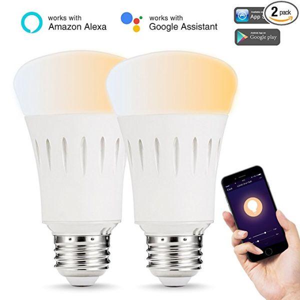 Lohas Led Smart Bulb 9W A19 E26 2000K-6500K 1//Box 6 Boxes