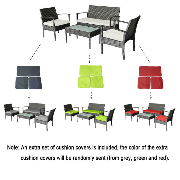 Shop For Small Patio Furniture Set Outdoor Wicker Porch