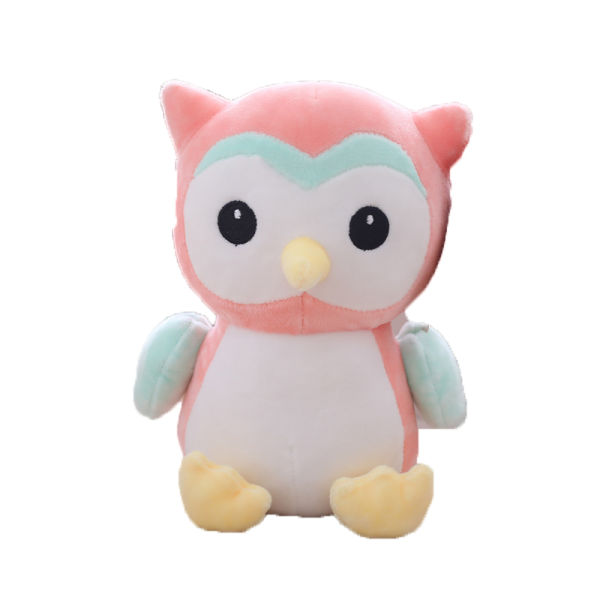 Shop For Free Dropshipping 1pcs Lovely Owl Plush Doll Stuffed Owl