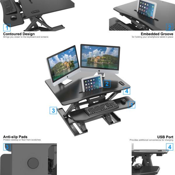 Shop For Gibbon Electric Height Adjustable Standing Desk