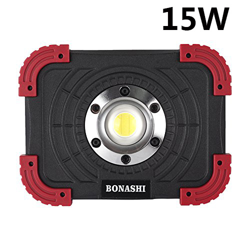 Shop For BONASHI 15W Portable LED Work Light, Rechargeable
